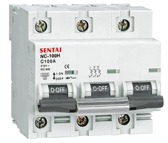 NC-100H series mini circuit breaker manufacturers from china