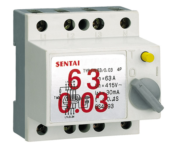 FIN series earth leakage circuit breaker manufacturers from china