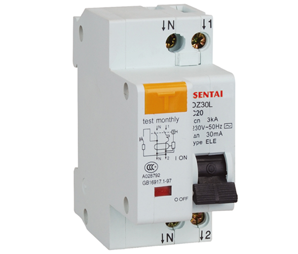 DZ30L(DPNL) earth leakage circuit breaker manufacturers from china