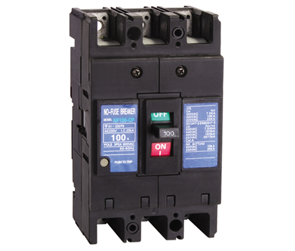 NF-CP series moulded case circuit breaker factory from China