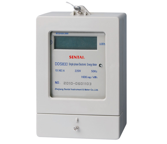 DDS833 series single phase electronic energy meter