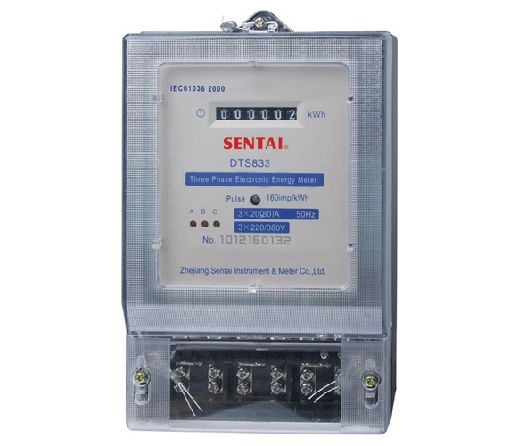 DTS833 series Three Phase Electronic Energy Meter