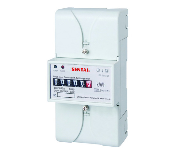 DDS833A series din rail energy meter manufacturers from china